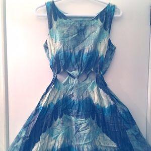 Samantha Pleet x Free People Cut out Twist Dress